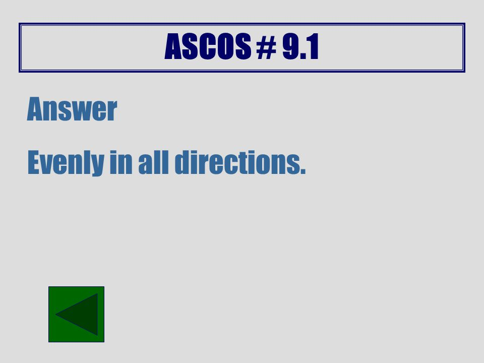 ASCOS # 9.1 Answer It is the same as the weight of the ice cube