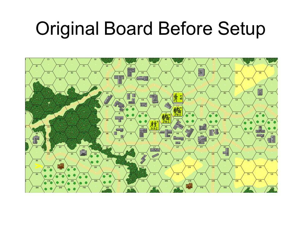 Original Board Before Setup