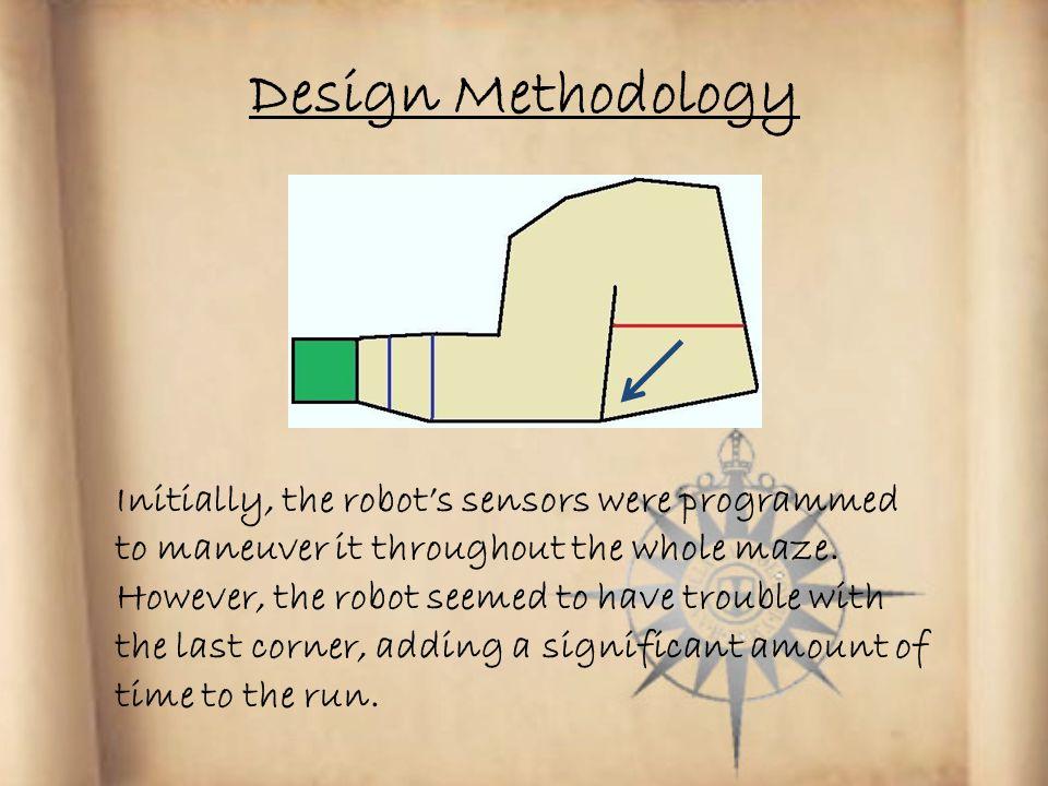 Design Methodology Garage Starting Line Turn Around Line