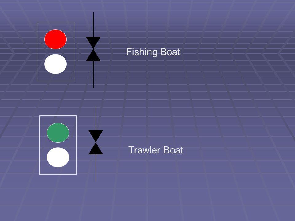 Fishing Boat Trawler Boat