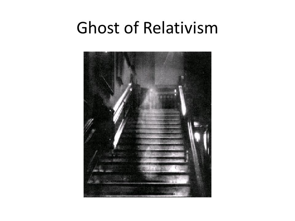 Ghost of Relativism