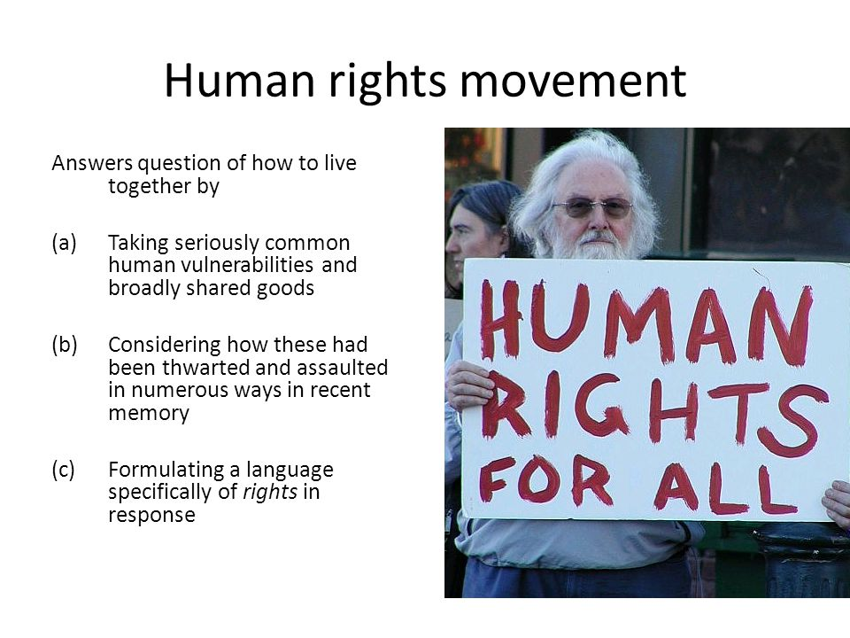Ghost of Relativism So: does Harman's view of morality – his relativism – fundamentally threaten the human rights movement?