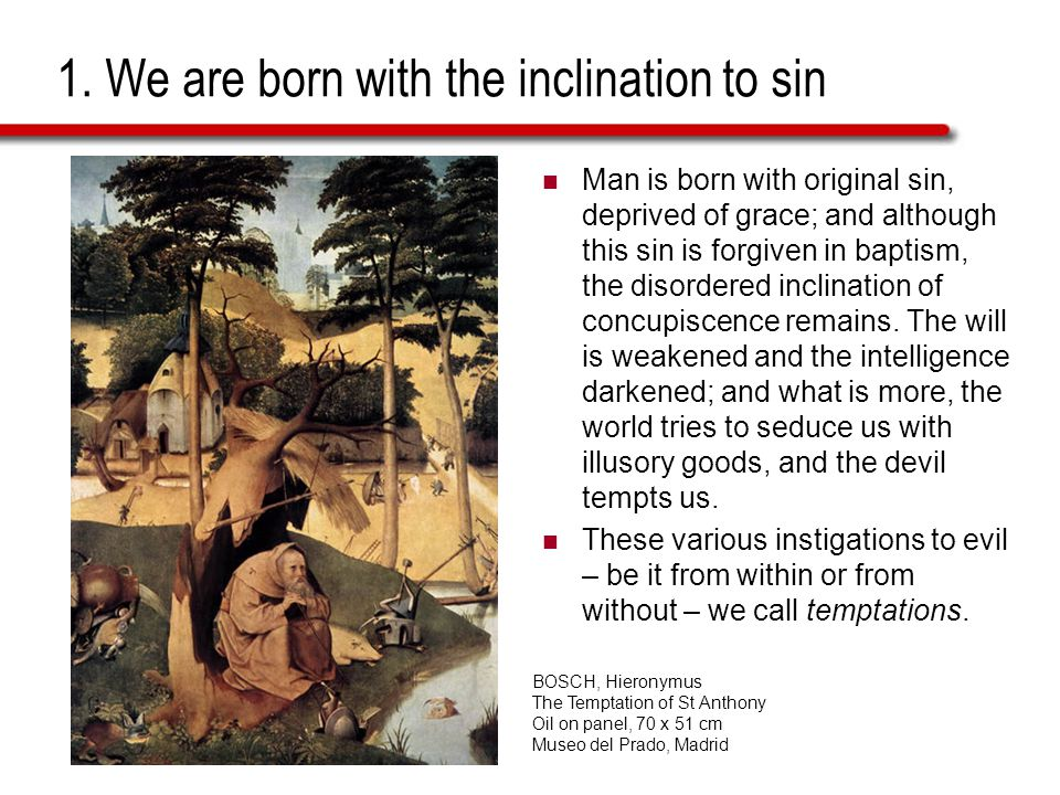 2.We can resist temptations God permits temptation in order to test us.