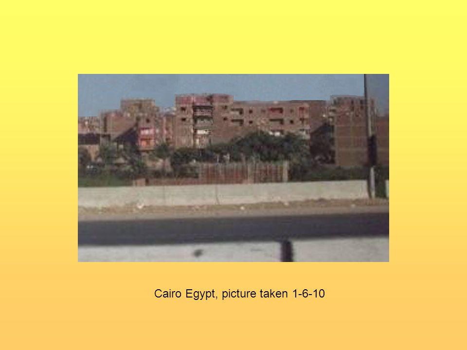 Cairo Egypt, picture taken 1-6-10