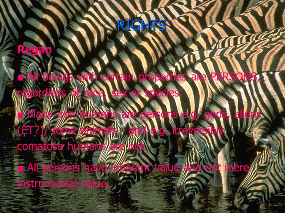 Applications  Regan: subjects of a life.  MA Warren, Tooley: self-concept.  Huxley: language.