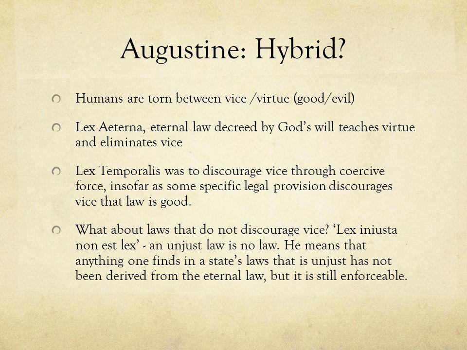 Augustine: Hybrid.