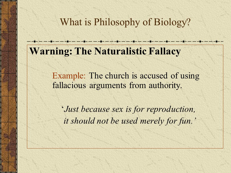 What is Philosophy of Biology.