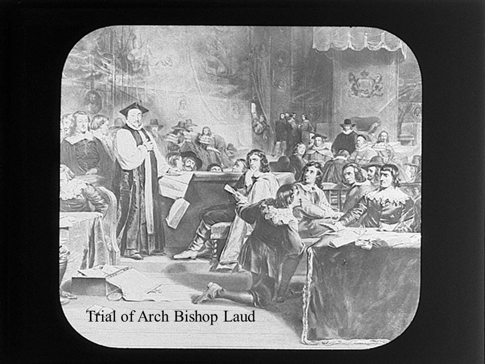 Trial of Arch Bishop Laud