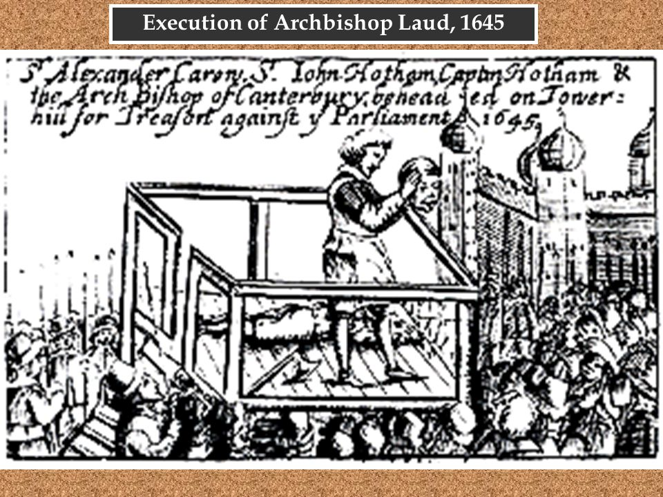 Execution of Archbishop Laud, 1645