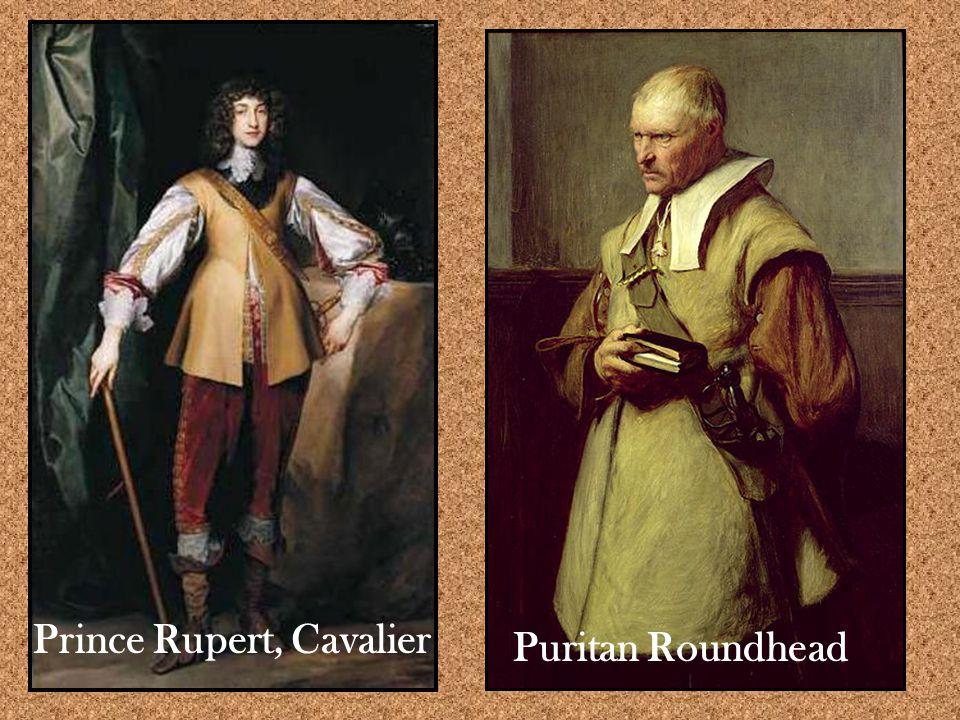 Prince Rupert, Cavalier Puritan Roundhead