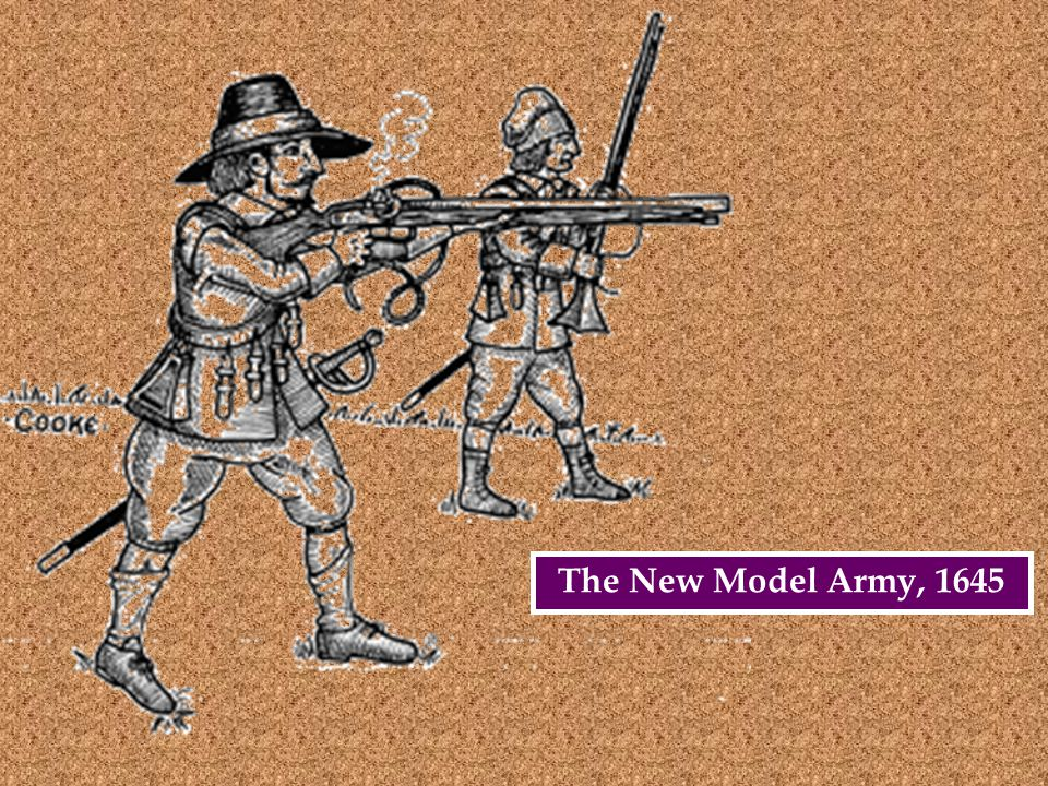 The New Model Army, 1645