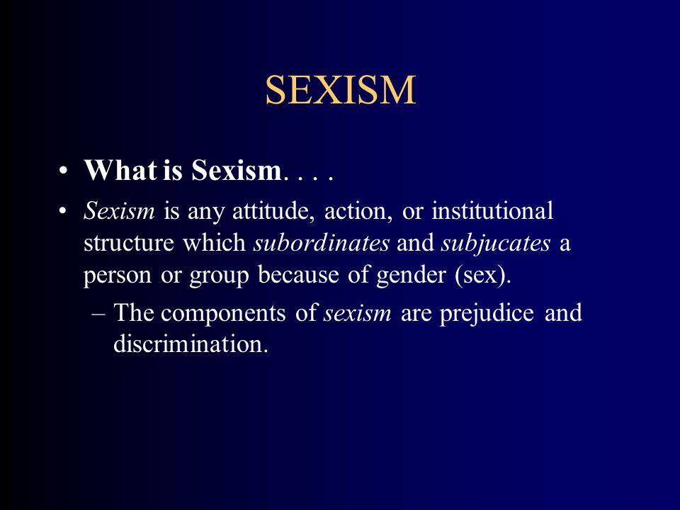 SEX ROLE SOCIALIZATION What is Socialization...