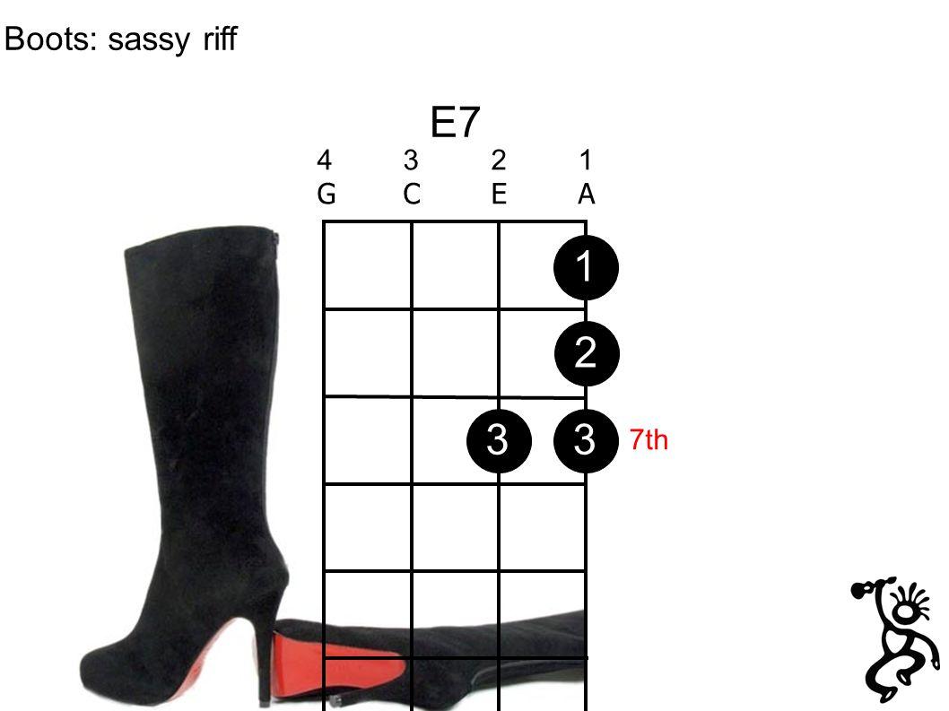 E7 4321GCEA4321GCEA Boots: sassy riff 1233 7th