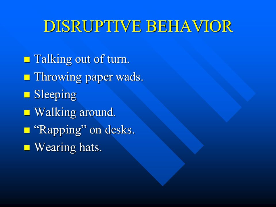 THREE LEVELS Disruptive Behavior- Handled by the Teacher Disruptive Behavior- Handled by the Teacher Arguments, Personal Attacks or Threats- Handled by Teacher and Principal Arguments, Personal Attacks or Threats- Handled by Teacher and Principal Physical Harm or Immediate Threat of Physical Harm- Panic button Physical Harm or Immediate Threat of Physical Harm- Panic button