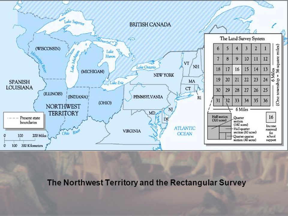 The Northwest Territory and the Rectangular Survey