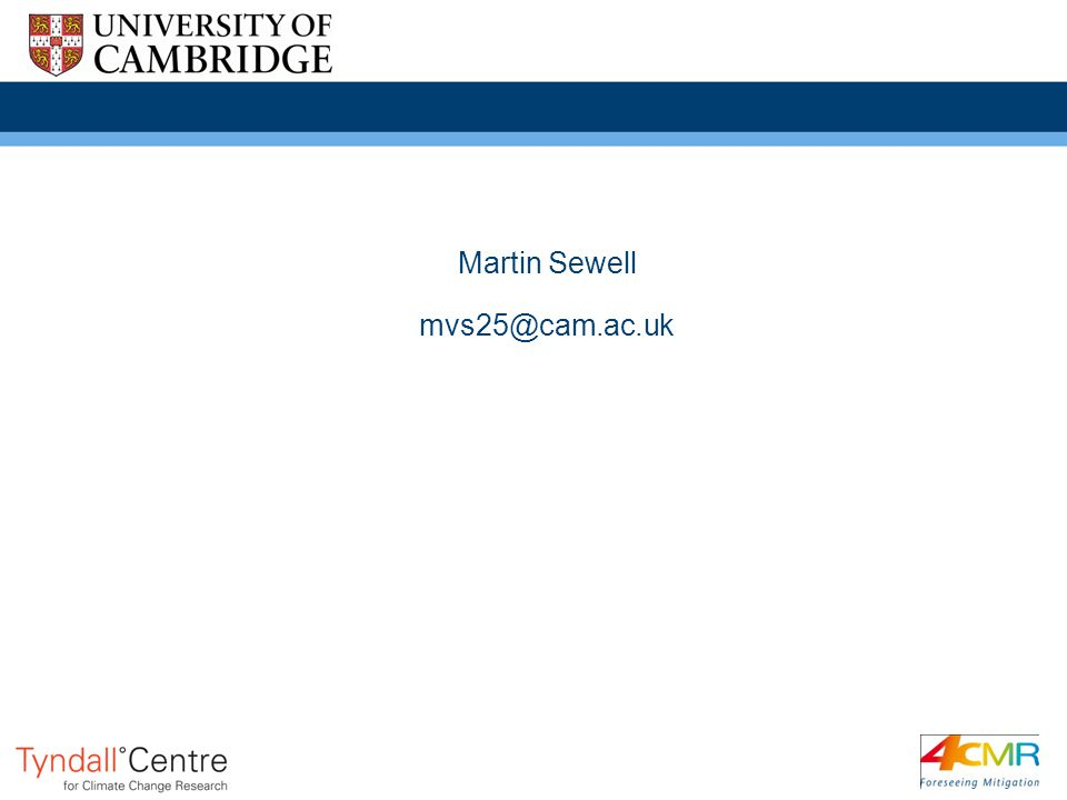 Martin Sewell mvs25@cam.ac.uk