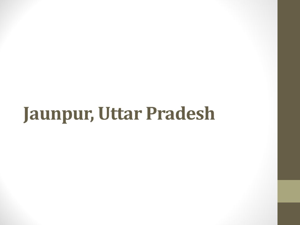 Jaunpur, Uttar Pradesh