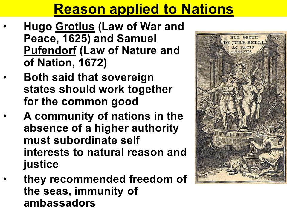Hobbes and Locke philosophy of natural law justified both constitutional and absolutist governments state had to be justified Absolutism (justified by Hobbes) constitutionalism (justified by Locke) Neither satisfactorily answered the question of legitimacy