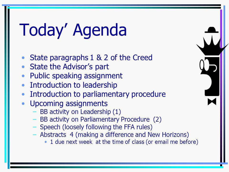 Review FFA Jeopardy -- Tony Ansen –Glenrose FFA Lesson Plans