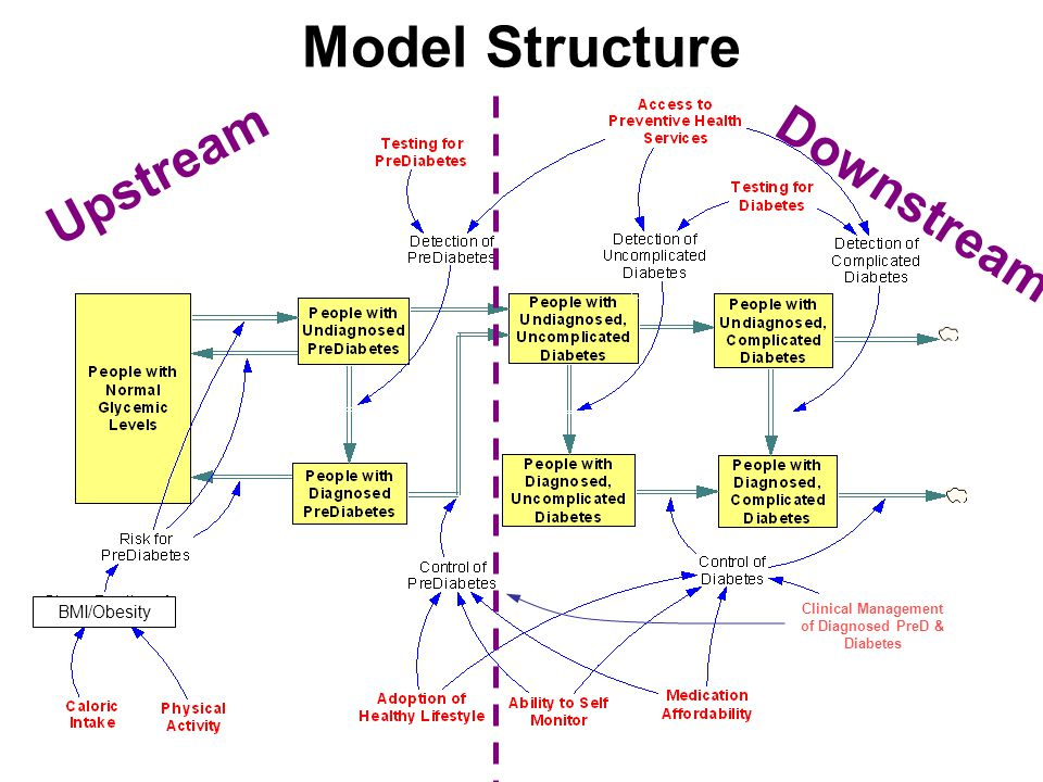 Bridging the SD/Audience Divide Sometimes a stock/flow-dominated model is what client needs Help client to identify and communicate the shortcomings of old mental models and benefits of the new