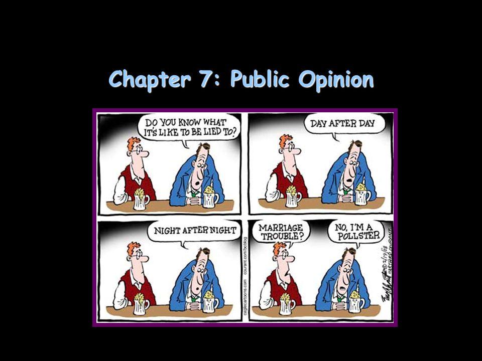 Chapter 7: Public Opinion