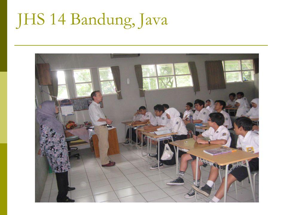 JHS 14 Bandung, Java