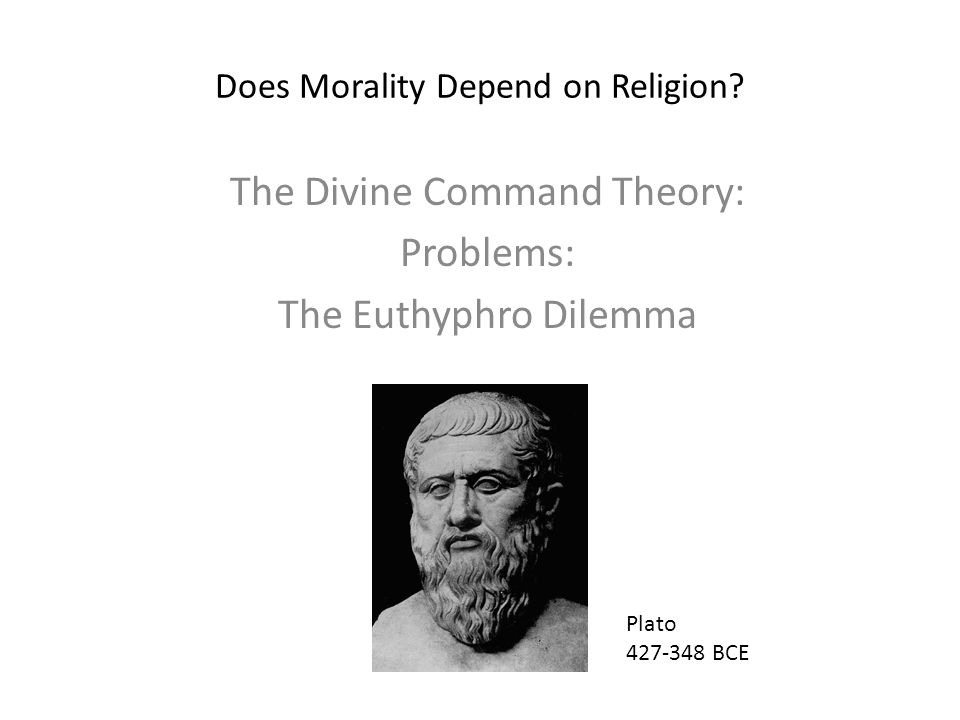 Does Morality Depend on Religion.