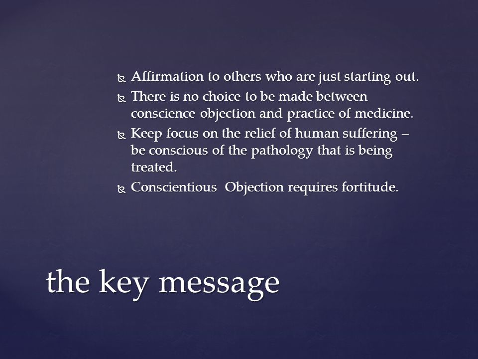 Medicine uniquely enjoys self regulation. The foundation of this is beneficence.
