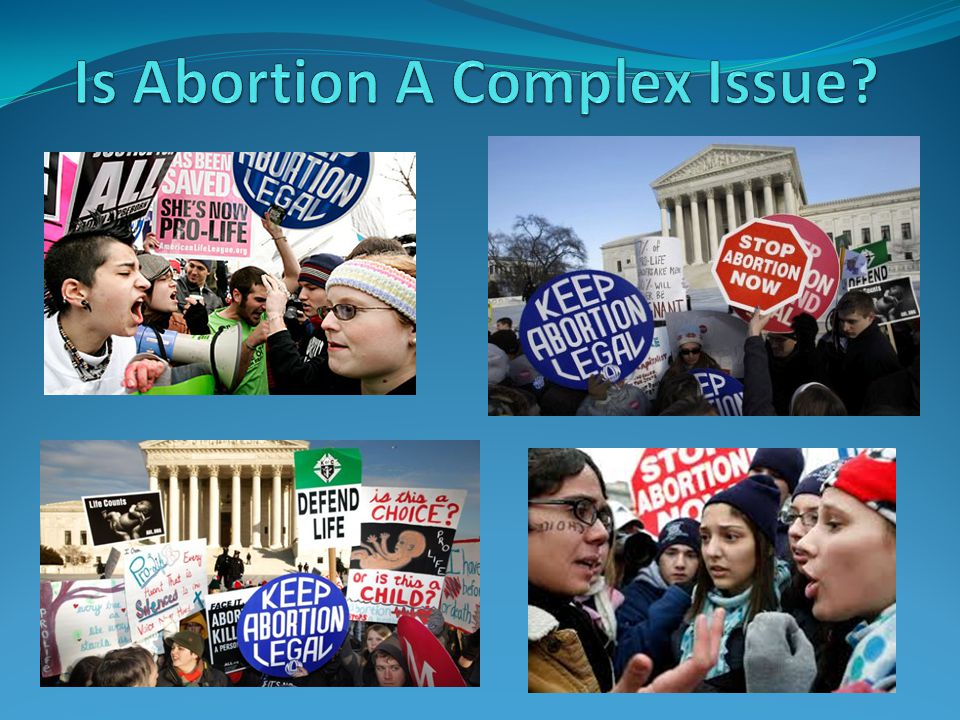 The Key Issue: What Is the Unborn? This question trumps all other considerations