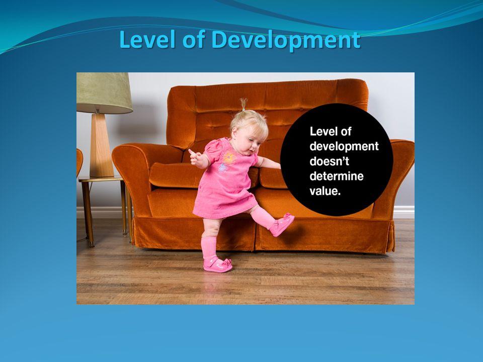 Level of Development