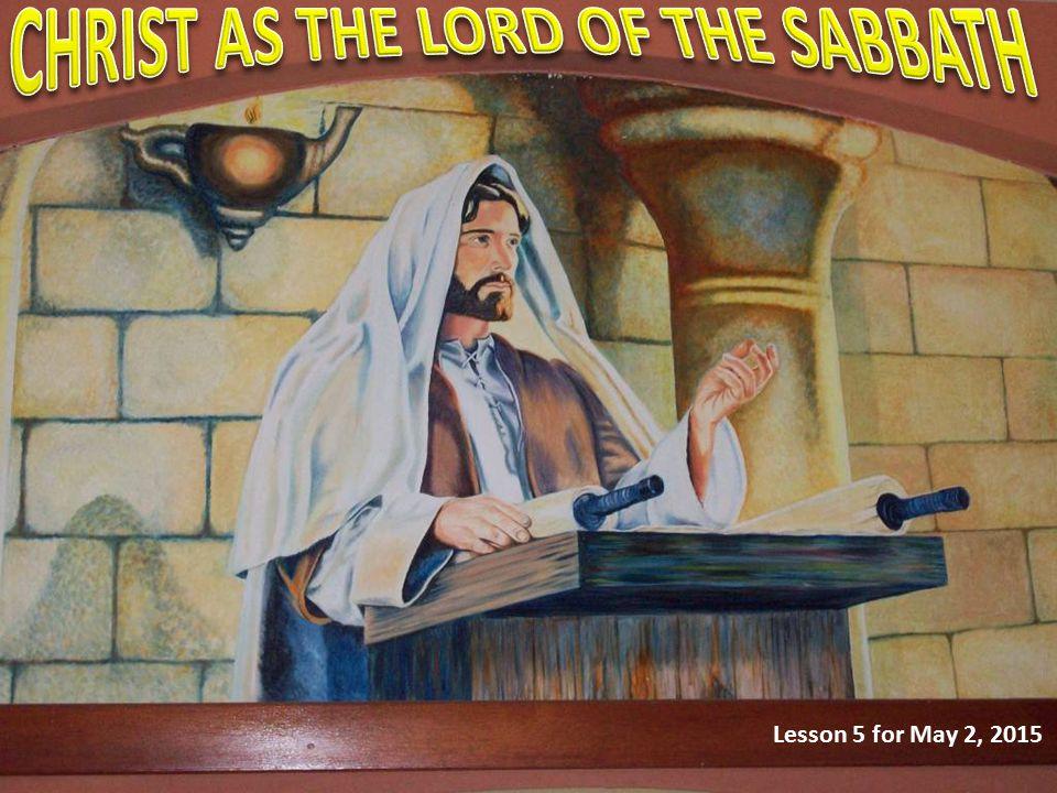 What does Luke mean when he speaks of Sabbath observance as Jesus' custom.