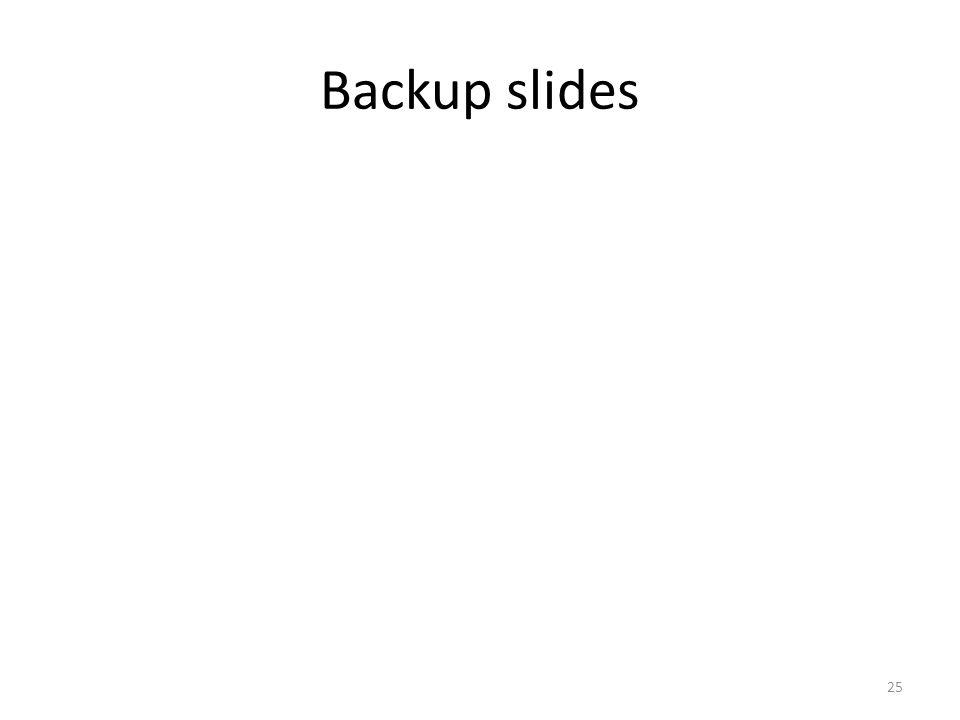 Backup slides 25