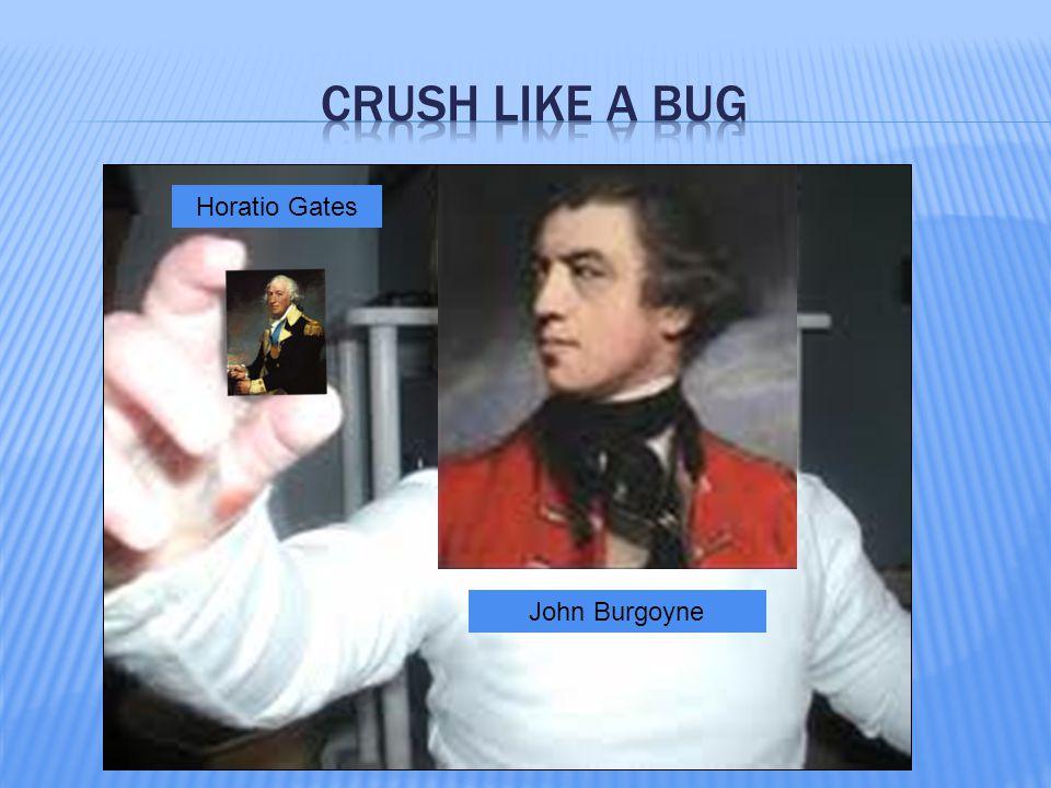 Horatio Gates John Burgoyne