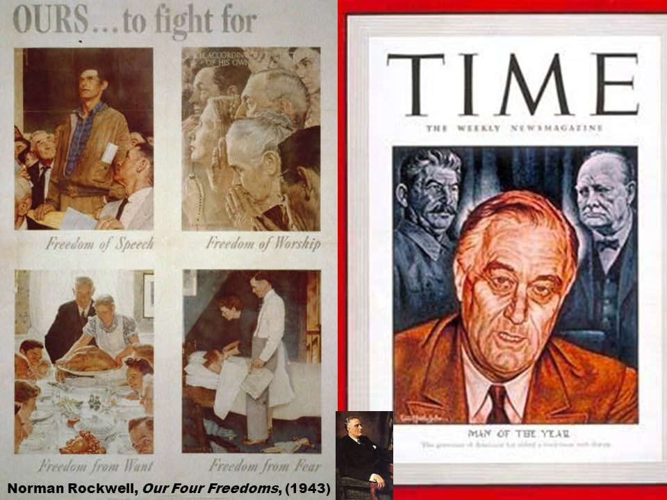 Norman Rockwell, Our Four Freedoms, (1943)