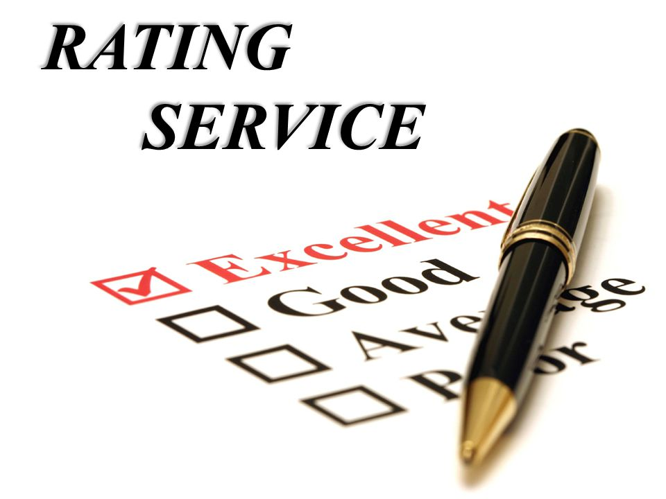 RATING SERVICE SERVICE
