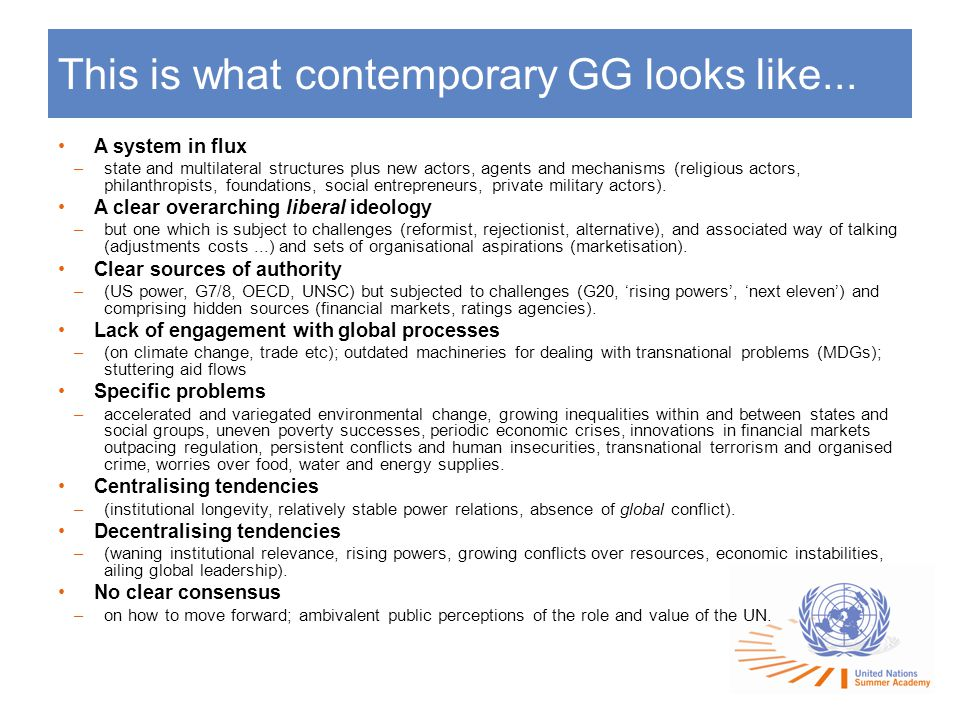 This is what contemporary GG looks like...