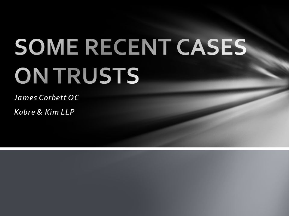 James Corbett QC Kobre & Kim LLP