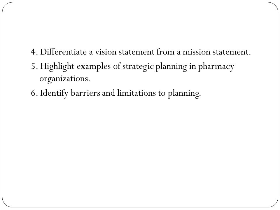 planning represents the purposeful efforts taken by an organization to maximize its future success.