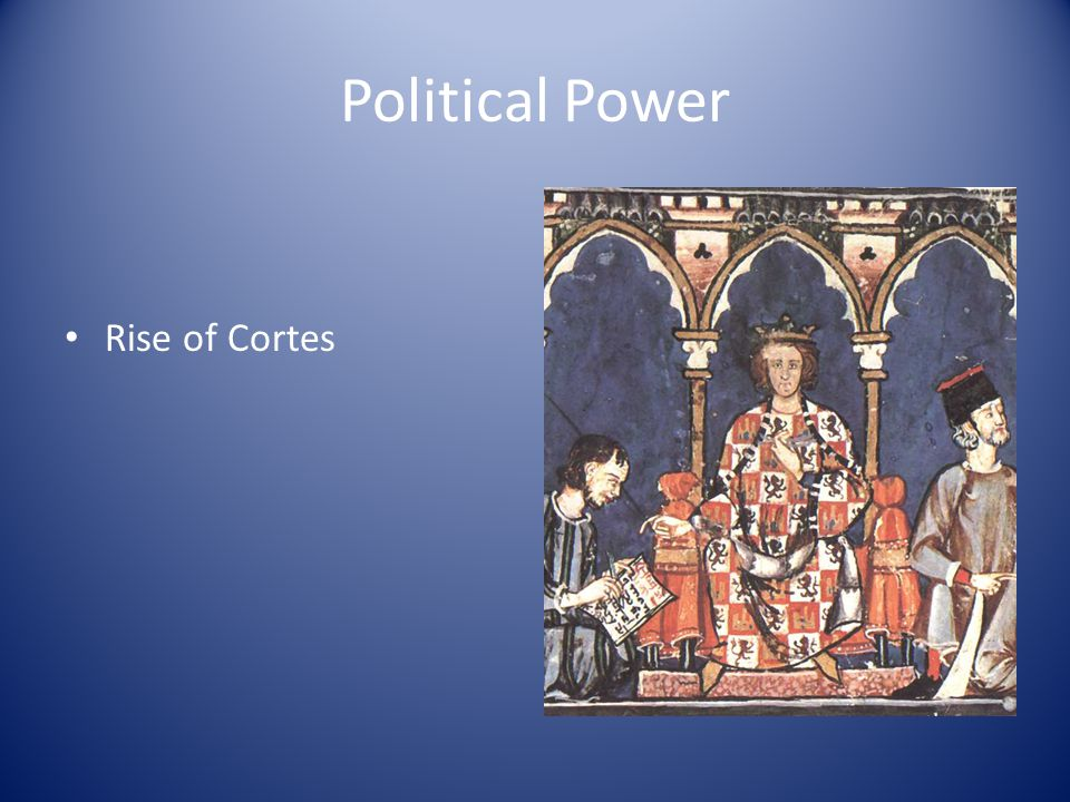 Political Power Rise of Cortes