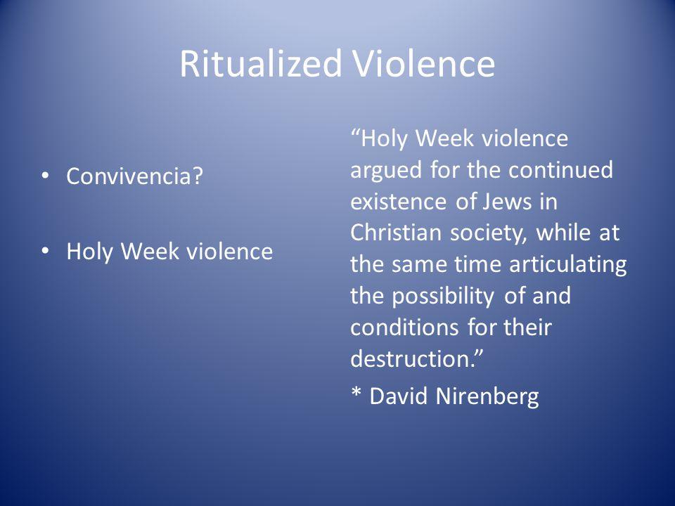 Ritualized Violence Convivencia.