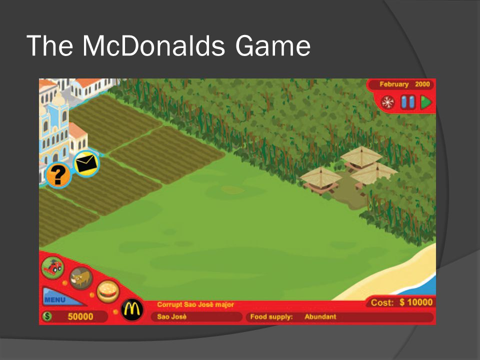 The McDonalds Game