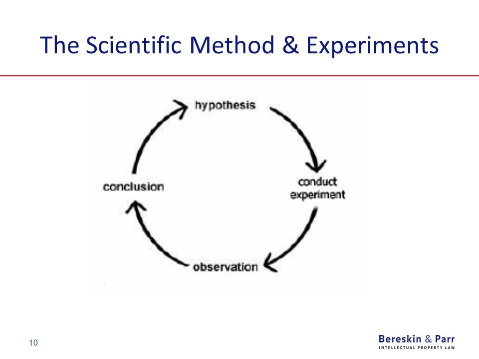 10 The Scientific Method & Experiments