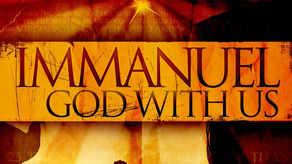 Immanuel - Recap Immanuel - God with Us - makes the Gospel Good News, to us all.