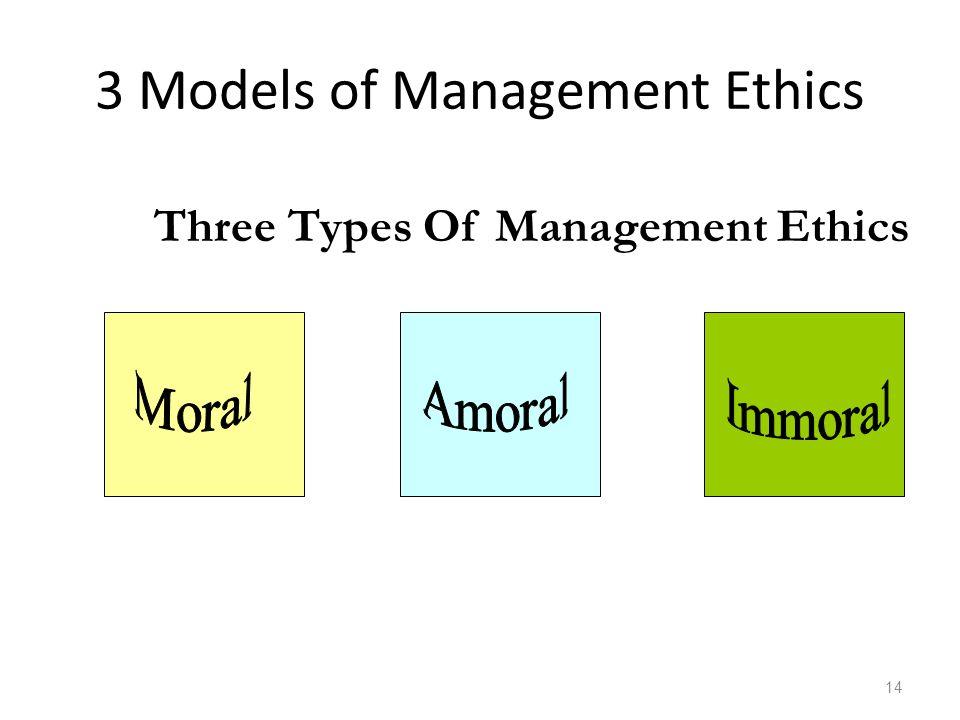 3 Models of Management Ethics 14 Three Types Of Management Ethics