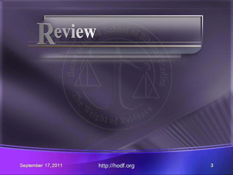 http://hodf.org 24 Romans 14:1-6 PC Edition v6a.