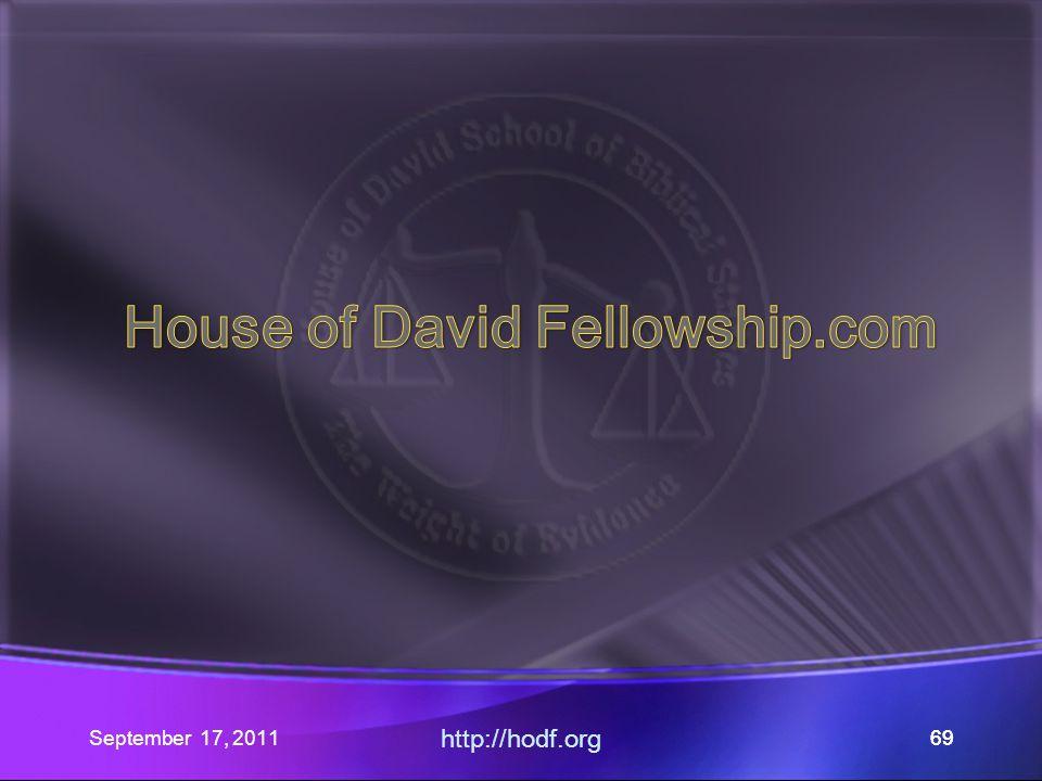 September 17, 2011 http://hodf.org 69