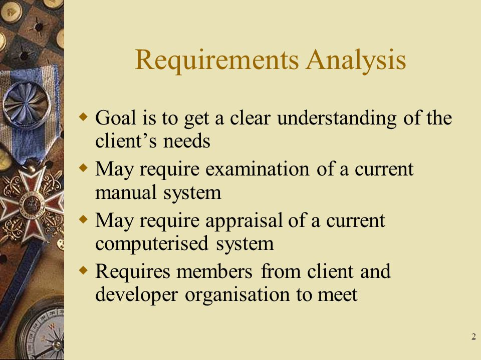 13 Requirements Volatility  This is an analysis of how often requirements change during this phase  Ideally there is a convergence towards the real needs or actual requirements of the client  By measuring this rate of convergence we can estimate how successful the efforts in this phase has been