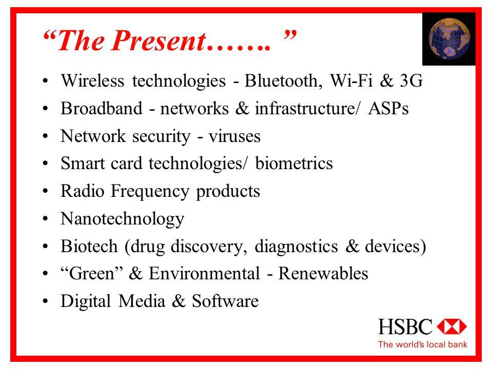 The Present…….