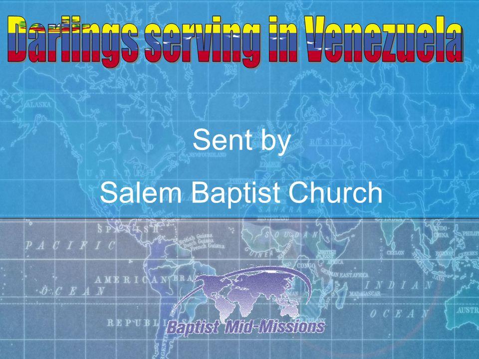 Sent by Salem Baptist Church