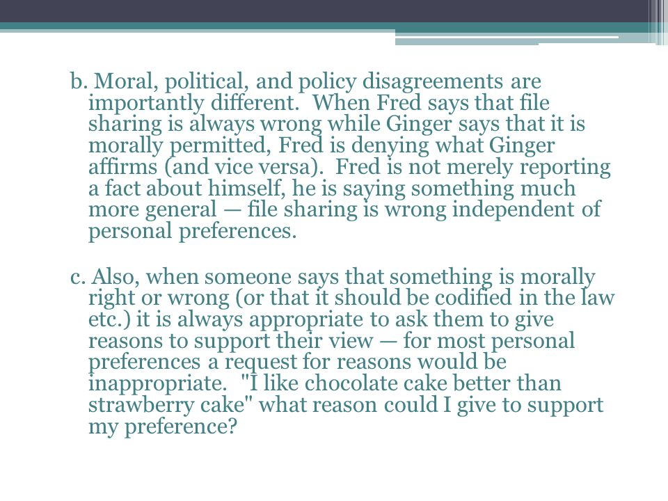 II.Ideal Moral, Political, and Policy Judgments....